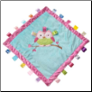"TAGGIES Oodles Owl Cozy Blanket 16"" by Mary Meyer"