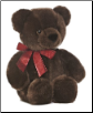"Chocolate Cuddle Bear Large 14"" by Aurora"