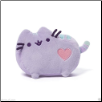"Pusheen Cat Pastel Purple with Heart 6"" by Gund"