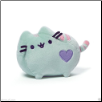 "Pusheen Cat Pastel Green with Heart 6"" by Gund"