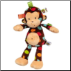 "TAGGIES Dazzle Dots Monkey 12"" by Mary Meyer"