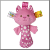 "TAGGIES Kandy Kitty Rattle 5"" by Mary Meyer"