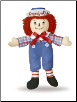 "Raggedy Andy Classic Doll 8"" by Aurora"