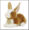 "Brown Dutch Bunny Rabbit Small 8"" by Miyoni"