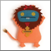 "Wizard of Oz Cowardly Lion Babo 13"" Uglydoll by Pretty Ugly"