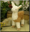 "Compadre Standing Llama 7"" by Wishpets"