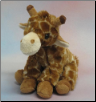 "Sitting Giraffe 11"" by Wishpets"