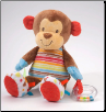 "Activity Monkey Cuddle Pal 11"" by Douglas"