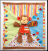 "Monkey Activity Blanket 18"" by Douglas"