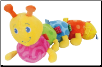 "TAGGIES Colours Caterpillar Toy 13"" by Mary Meyer"
