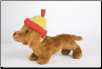 "Holiday Dachshund with Hat 8"" by Douglas"