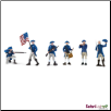 Historical Collections:  American Revolutionary War Continental Army TOOB by Safari Ltd