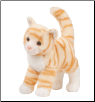 "Tiffy Orange Tabby Cat 12"" by Douglas"