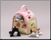 "Cat House with Finger Puppets 7"" by Unipak Designs"