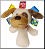 "TAGGIES Buddy Dog Rattle 5"" by Mary Meyer"