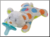 Confetti Teddy WubbaNub™  8″ by Mary Meyer