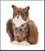 "Einstein Great Horned Owl 9"" by Douglas"