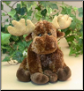 "Jessie Sitting Floppy Moose 8"" by Wishpets"