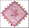 "TAGGIES Kandy Kitty Cozy Blanket 16"" by Mary Meyer"
