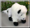 "Buff Standing White Buffalo 9.5"" by Wishpets"