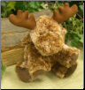 "Andros Floppy Moose Minky Supersoft 8"" by Wishpets"