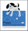 Puppy Clip-Over-The-Page Bookmark by Re-Marks