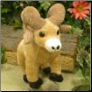 "Ramsey Ram with Corduroy Horns 8"" by Wishpets"