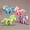 "Bright Colored Horse 4"" with Removable Keychain by Wishpets"