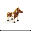 "Medium Brown Paint Standing Horse 11"" by Wishpets"