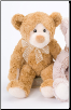 "Cinnamon Mr. Bear 11"" by Douglas"