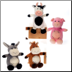 "Cuddle Farm Animals 9"" by Fiesta"