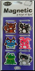 Cute Woodland Creatures Mini Photo Magnetic Page Clips Set of 6 by Re-marks