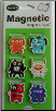 Crazy Creatures Mini Photo Magnetic Page Clips Set of 6 by Re-marks