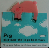 Pig  Clip-Over-The-Page Bookmark by Re-Marks
