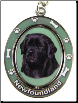 Newfoundland Spinning Dog Key Chain by E and S Imports