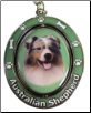 Australian Shepherd Spinning Dog Key Chain by E and S Imports