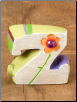 "Name Keepsake ""Z"" by Natural Life"