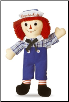 "Raggedy Andy Classic Doll 16"" by Aurora"