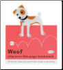 Jack Russell Terrier Clip-Over-The-Page Bookmark by Re-Marks