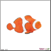 "Incredible Creatures:  Clown Anemonefish Figure 5"" by Safari Ltd"