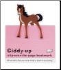Giddy-Up Horse Clip-Over-The-Page Bookmark by Re-Marks