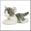 "Grey Tabby Cat Medium 11"" by Miyoni"