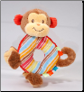 "Monkey Hand Rattle 4"" by Douglas"