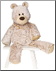 "Marshmallow Zoo Great Big Teddy 25"" by Mary Meyer"