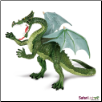 "Dragons: Green Dragon Figure 6"" by Safari Ltd"