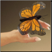 Mini Monarch Butterfly Finger Puppet by Folkmanis