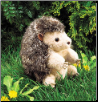 "Hedgehog Hand Puppet 7"" by Folkmanis"