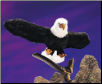 "Bald Eagle Hand Puppet 29"" by Folkmanis"