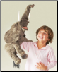 "Elephant Hand Puppet 27"" by Folkmanis"