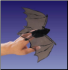 Mini Bat Finger Puppet by Folkmanis